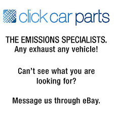 Replacement Exhaust Rear Back Box Silencer 2 Year Warranty - Brand New! (Fits: Peugeot 206)