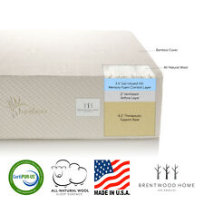 """Brentwood Home Bamboo 11"""" Gel Infused HD Memory Foam Mattress, Made in USA"""