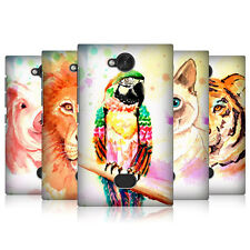 HEAD CASE DESIGNS COLOURED ANIMALS CASE COVER FOR NOKIA ASHA 503