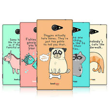 HEAD CASE DESIGNS THE SECRET LIFE OF FANTASTIC ANIMALS CASE FOR SONY XPERIA M2