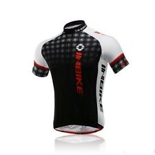 Summer Team Cycling Jersey Bicycle Men Wear Clothing Short Sleeves Shirt Top