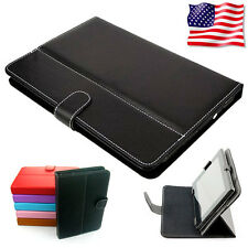 Protection Cover Folding Flip Book Case Portfolio Fit For 10 inch Dell XPS 10 PC