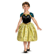 Girl's Disney Movie Frozen Princess Anna Classic Gown Child Halloween Costume