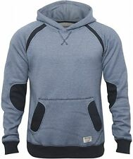 New Jack and Jones Mens Blue Saxo Sweater Designer Hoody