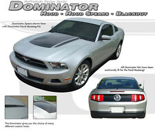Solid Hood/ Spears/ Trunk Blackout/ 3M Decals Stripes Graphics 2010-2012 Mustang