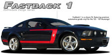 Fastback 1 C Stripe Boss 3M Pro Grade Vinyl Graphic Decal 2005-2009 Ford Mustang