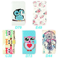 Wallet Leather Flip Stand Case Cover For LG Optimus L90 D405 Dual D410 + Stylus