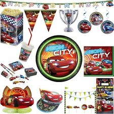 Disney Cars Kinder Geburtstag Junge Autos Party Deko Set Jungs Dekoration Feier