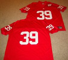 Wisconsin Badgers Premier Football Jersey Red 39