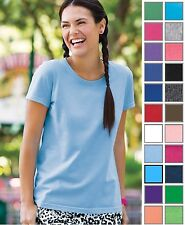 Fruit of the Loom Women's Fit Tagless Label Double Needle T-Shirt. L3930R