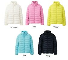 Authentic UNIQLO KIDS LIGHT WARM PADDED Jacket for Girl from Japan