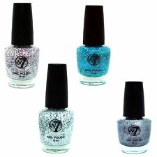 NAIL VARNISH BY W7 SPRINKLE TEXTURED FINISH POLISH ALL COLOURS