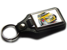 CITROEN SAXO VTR Sports Car Koolart Quality Leather Chrome Keyring Any Colour!