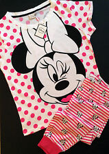 Primark Authentic DISNEY Minnie Mouse T Shirt Leggings Pyjama Set