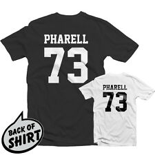 PHARELL 73 T SHIRT 1375 - NERD Happy Williams Neptunes Hip Hop Jersey Rap Trill