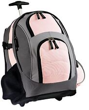 NEW WHEELED BACKPACKS USE STRAPS CARRY OR ROLL ON WHEELS BACK TO SCHOOL TRAVEL