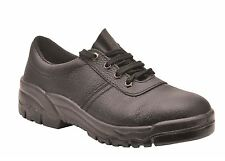 Protector Shoes Safety Work Boots Steel Toe Cap & Midsole Sizes 2 - 16 FW14