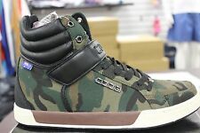 Men's Coogi CMF314 Brussel Camouflage Camo Black High Tops Brand New in Box