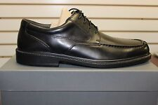 Hush Puppies Men's All-Weather Waterproof Network Black Leather Shoes Brand New