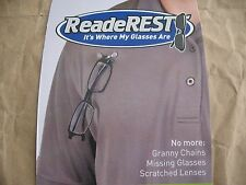 ReadeREST Magnetic Eyewear Holder great to keep from losing your glasses 1pc