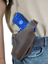 NEW Barsony Brown Leather Pancake Gun Holster for Browning Colt Full Size 9mm 40