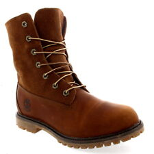 Womens Timberland Authentic Teddy Fleece Lace Up Snow Leather Winter Boot UK 3-9