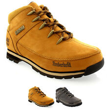 Mens Timberland Euro Sprint Hiking Nubuck Rain Snow Laced Ankle Boot US 7.5-12.5