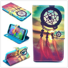Dreamcatcher Flip Wallet card slot PU Leather Stand Case Cover Skin for phones