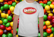Skittles T-shirt Candy UK Sweets Chocolate Old Fashioned Retro American Mars Bmx