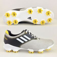 ADIDAS adizero Tour GOLF SHOES  LIGHT GRAY/GRAY/WHITE/YELLOW  674911 BRAND NEW!!