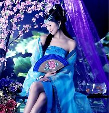 Hot Sexy Chinese Traditional Womens Clothing Evening Dress Classical Dance Dress
