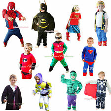 HALLOWEEN PARTY Super Hero Character Costume Children Kids Cosplay Clothing 2-7Y