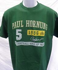 Green Bay Packers Football Adult Paul Hornung Classic Short Sleeve TShirt Green