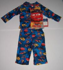 DISNEY CARS INFANT BOYS 2 PIECE FLANNEL PAJAMAS PJS SET SIZE 12 MONTHS NWT!