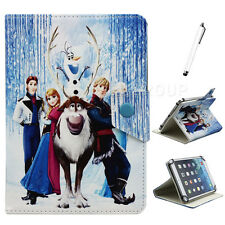 """Lovely Disney Cartoon Frozen Member PU Leather Case Cover for 7"""" inch Tablet PC"""
