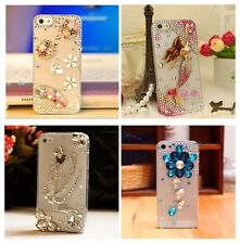 Cute Luxury Bling Crystal Diamond Hard Case Cover for iPhone/ Samsung Galaxy 02