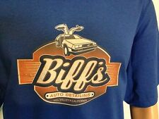 BACK TO THE FUTURE, bttf, BIFFS AUTO DETAILING, T-Shirt Men