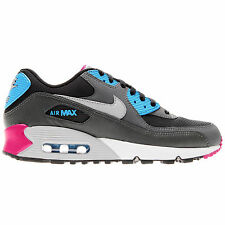 Nike Air Max 90 Essential Black Grey Mens Trainers