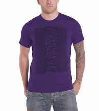 Joy Division Unknown Pleasures Radio Waves Official Mens New Purple T Shirt