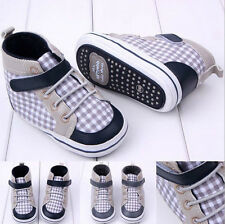 Foreign Trade Boys and Girls Newborns Crib Canvas Sneakers Baby Toddler Shoes