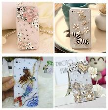 Cute Luxury Bling Crystal Diamond Hard Case Cover for iPhone/ Samsung Galaxy 03