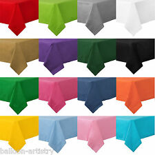 54x108in Solid Colour Paper Table Cover Wedding Tableware Party Supplies Colours