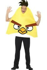 ADULT YELLOW ANGRY BIRD COSTUME GAME GAMER FANCY DRESS OFFICIAL ANGRY BIRDS SUIT