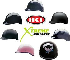 HCI 105 Polo Style Half Helmet DOT XS S M L XL 2XL 3XL- Fast & Cheap Ship!