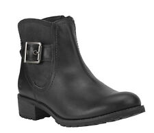Women's Timberland Earthkeepers Bethel ZipOn Ankle Boot Black 8634A