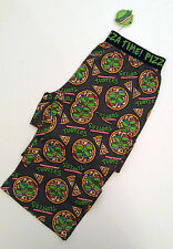 Mens Official TMNT NINJA TURTLES PIZZA Pyjama Lounge Pants from PRIMARK