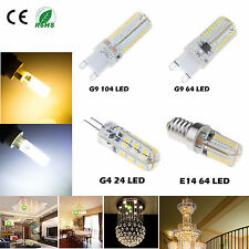 3W 4W 5W 7W G4 G9 E14 SMD 3014 LED Warm Cool White Lamp Bulbs Corn Crystal Light