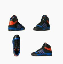 Mens Adidas Originals Lifestyle Attitude CS - Black/Royal - Orange C75196