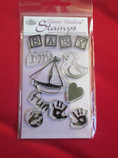 clear choice rubber ink stamps various baby/wedding