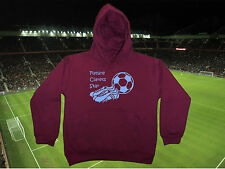 BURNLEY Football Baby/Kid's Hoodie/Hoody-Boy/Girl-Personalised Top-Name & Number